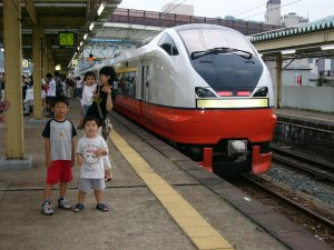 青森駅の特急
