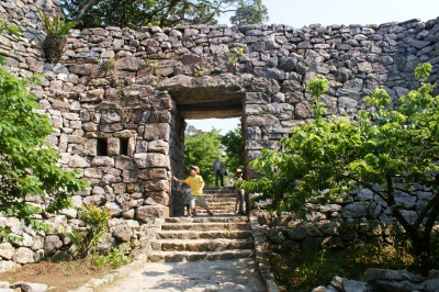 今帰仁城の門