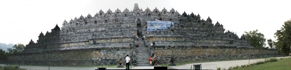 インドネシア・ジャワ島のボロブドゥール